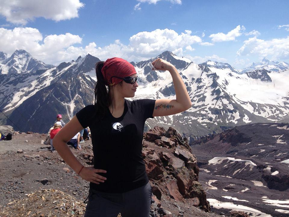 Pierwsze podejście na Elbrus